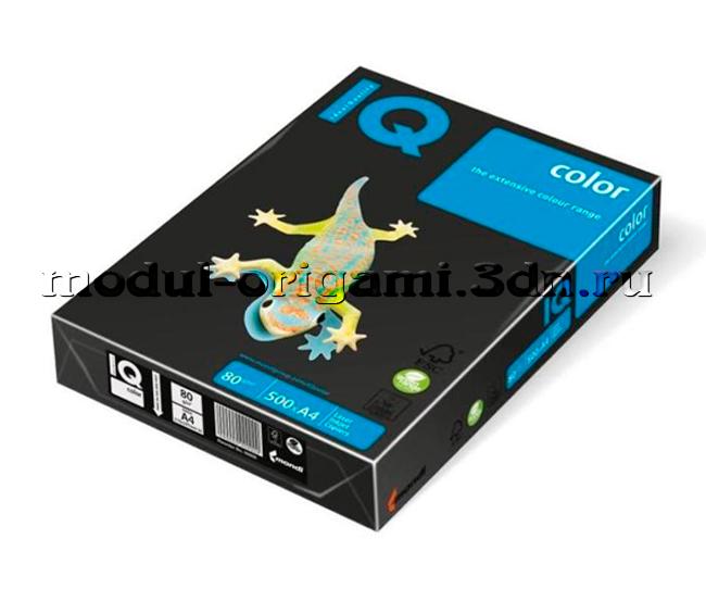 Бумага для модулей оригами IQ - черная