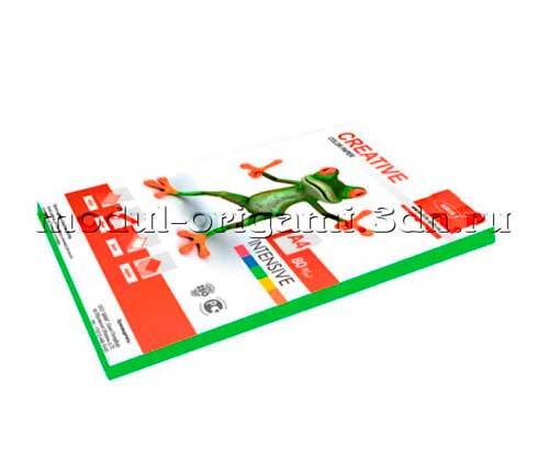 Бумага для модулей оригами Creative color интенсив зеленый