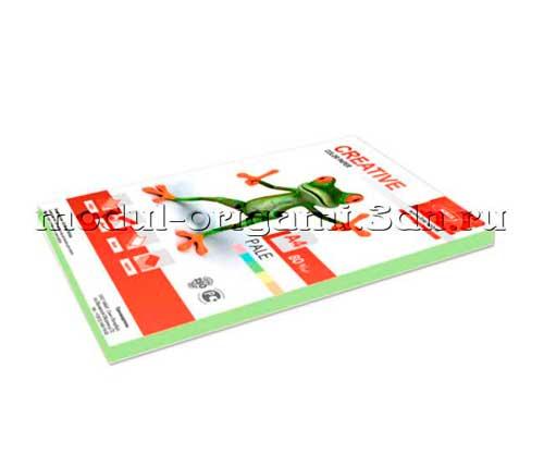 Бумага для модулей оригами Creative color пастель зеленый