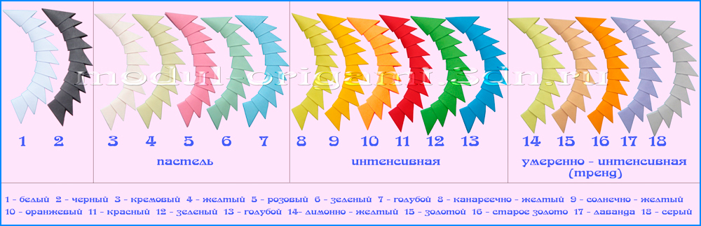 Модули оригами купить