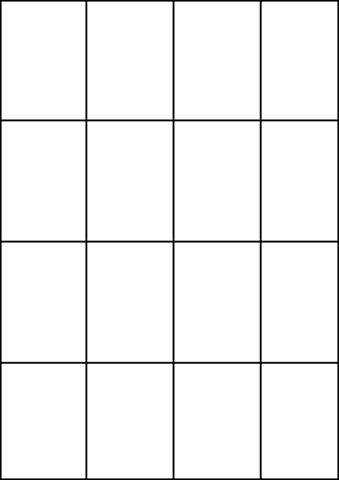 Модули оригами 1/16 А4